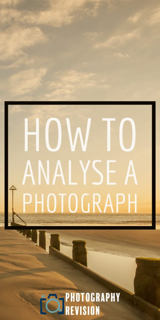 How to analyse a photograph